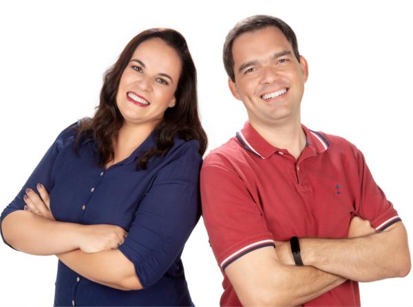 Dra. Renata Lameira e Dr. Vitor Duzzi